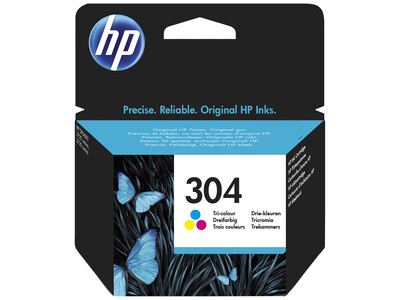 HP 304 ORIGINAL COLOUR INK *100 Pages