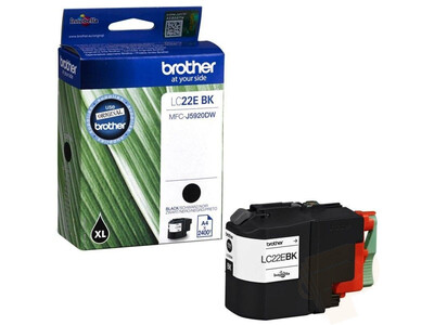 BROTHER LC22E ORIGINAL BLACK INK