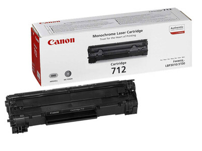 CANON 712 ORIGINAL TONER BLACK