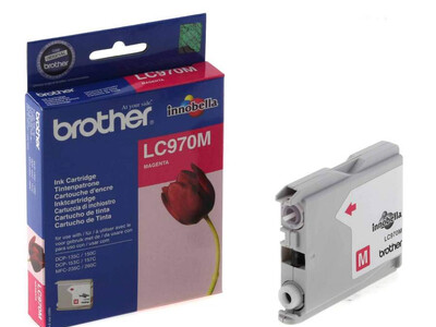 BROTHER LC970 ORIGINAL MAGENTA INK
