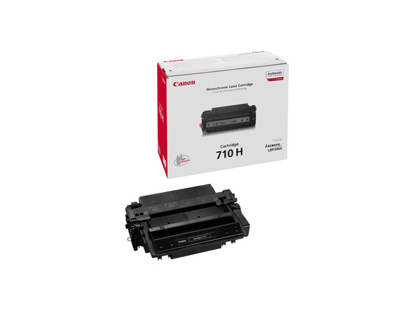 CANON 710 ORIGINAL H/Y TONER BLACK *12000 PAGES