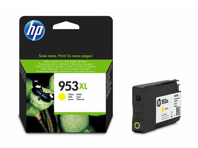 HP 953XL ORIGINAL YELLOW INK