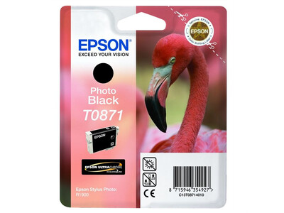EPSON T0871 ORIGINAL BLACK INK