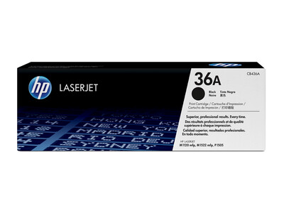 HP CB436A ORIGINAL TONER BLACK