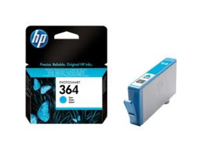HP 364 ORIGINAL CYAN INK