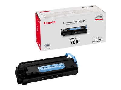 CANON 706 ORIGINAL TONER BLACK