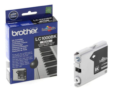 BROTHER LC1000 ORIGINAL BLACK INK