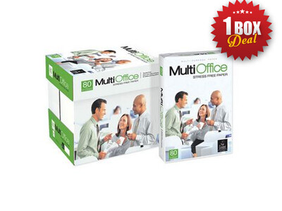 MULTIOFFICE A4 80G COPY PAPER 1 BOX