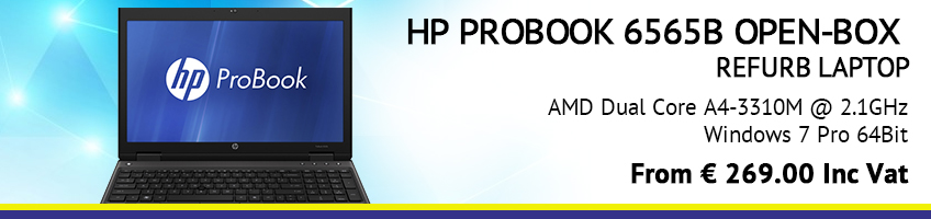 HP PROBOOK 6565B OPEN-BOX
