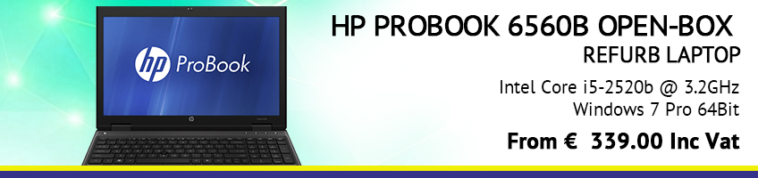 HP PROBOOK 6560B OPEN-BOX